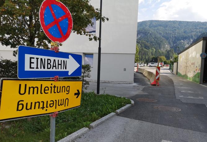 Der Weg zur neuen Schule