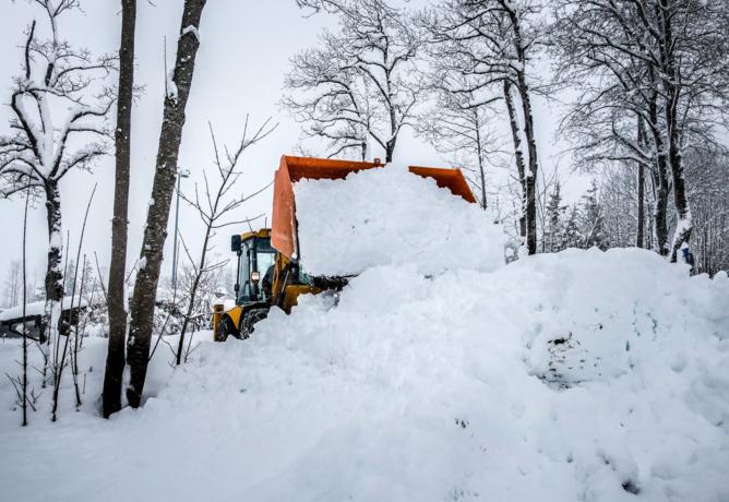 Einsatzreicher Winterdienst für unseren Bauhof