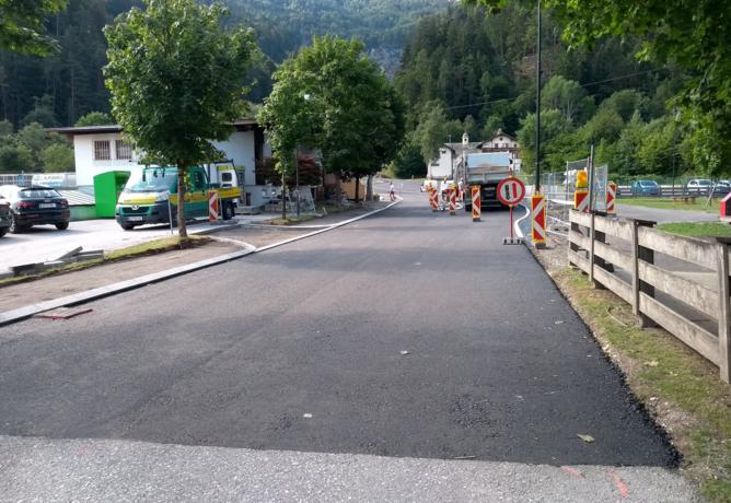 Fertigstellung Klammparkplatz schreitet voran