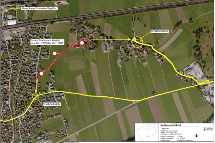 Kanalarbeiten in Liesfeld