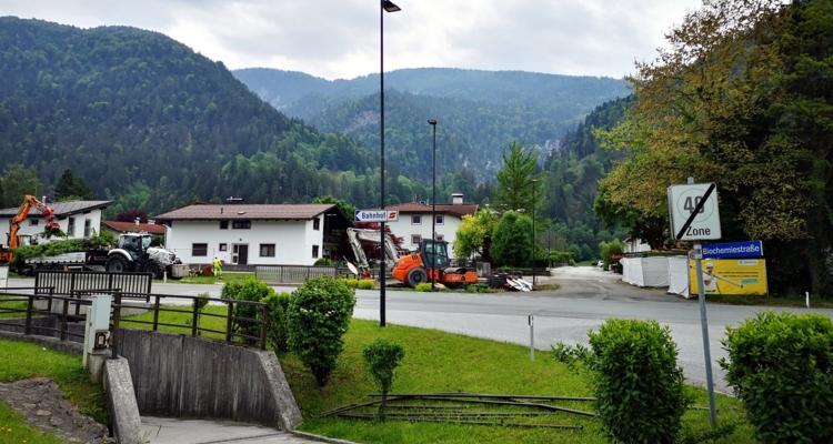 Kreisverkehrbau: B171-Abfahrt gesperrt