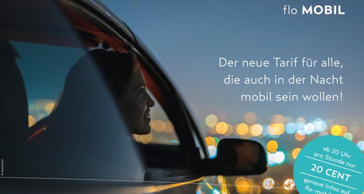 """Neuer Nachttarif für den """"flo"""""""
