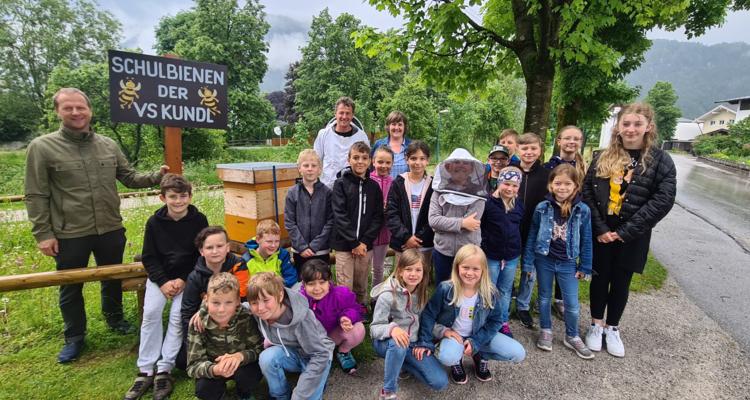 Neues Zuhause für Schulbienen