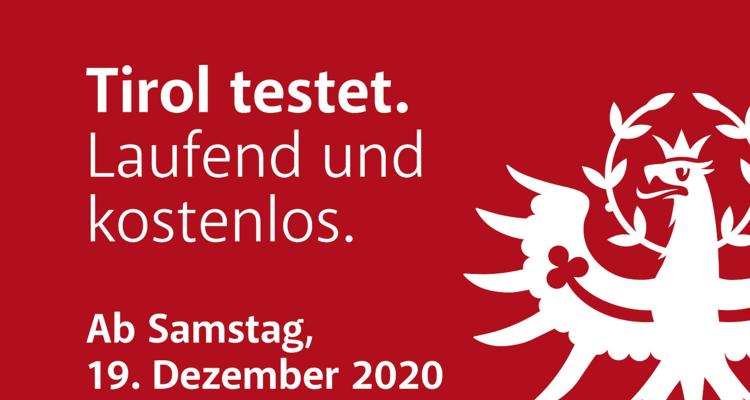Tirol testet – laufend und kostenlos!