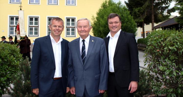 Walter Doblander feiert 90. Geburtstag
