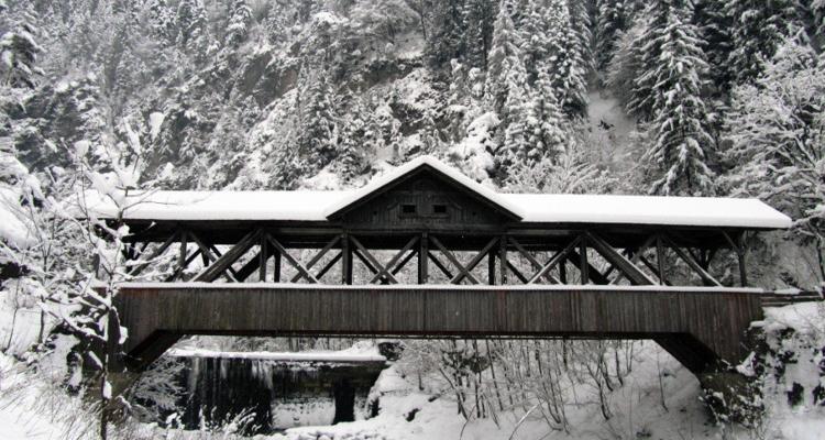 Wintersperre Kundler Klamm