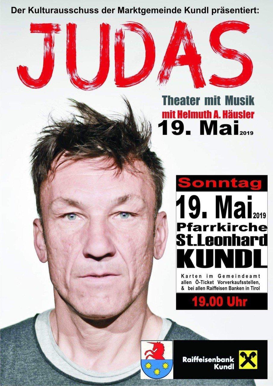 Judas - Theater mit Musik
