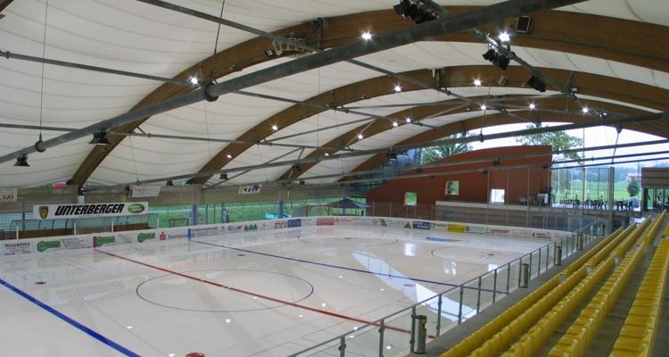 Eishalle Winter