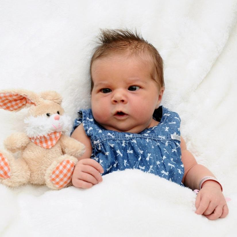 Emma - geboren am: 08.08.2017 - Mutter: Dana Vodrazka - Vater: Peter Vodrazka