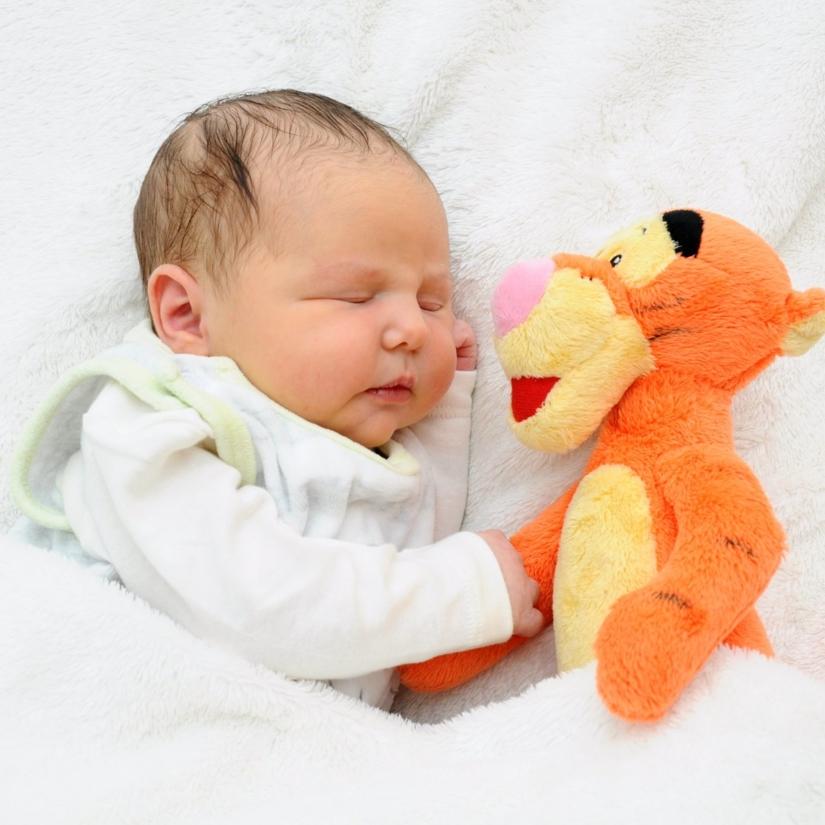 Noah - geboren am: 08.01.2018 - Mutter: Sabrina Jordan - Vater: Christian Heel