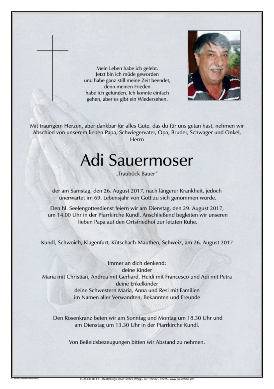 Adi Sauermoser
