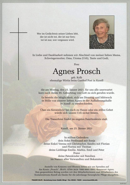 Agnes Prosch