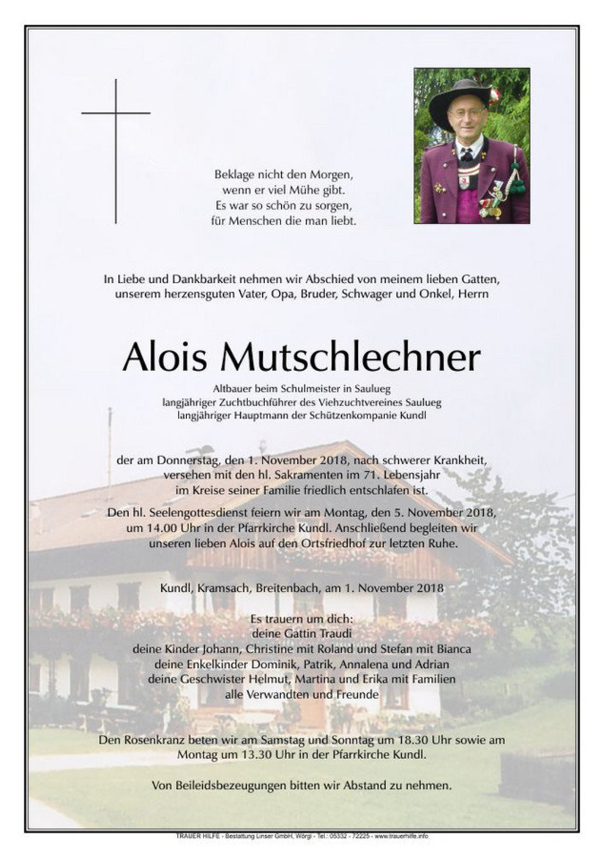 Alois Mutschlechner