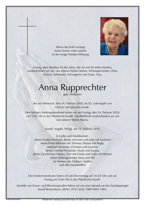 Anna Rupprechter