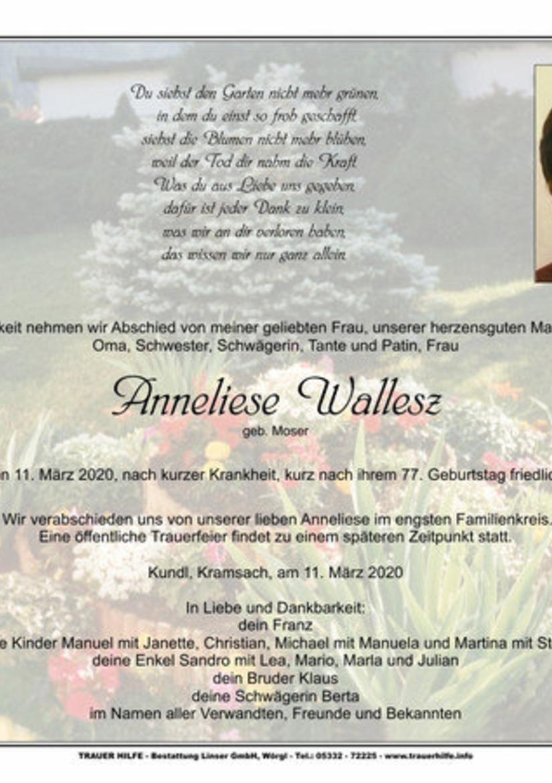 Anneliese Wallesz