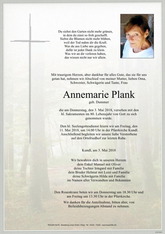 Annemarie Plank