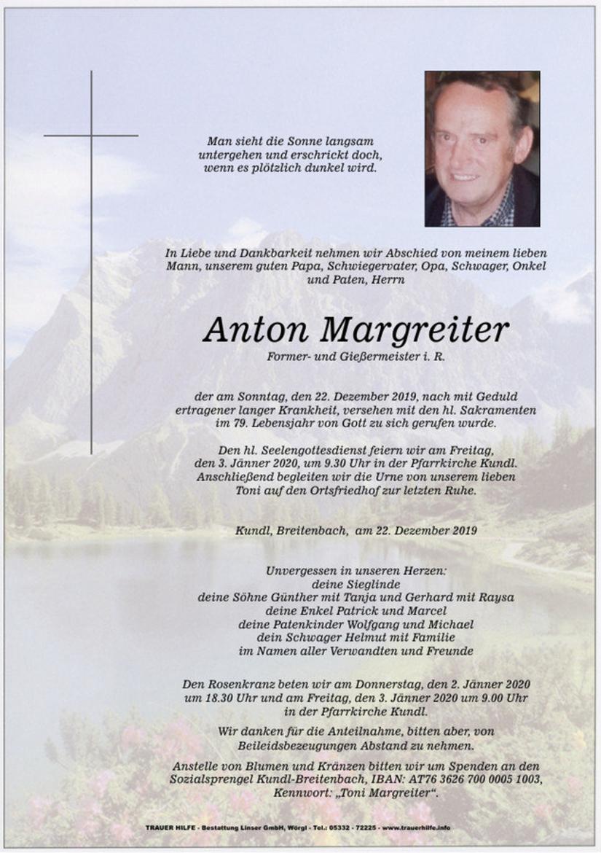 Anton Margreiter