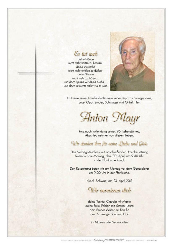Anton Mayr