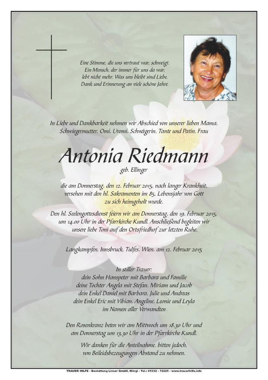 Antonia Riedmann