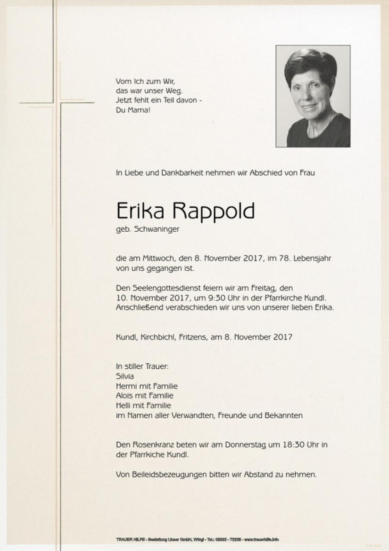 Erika Rappold