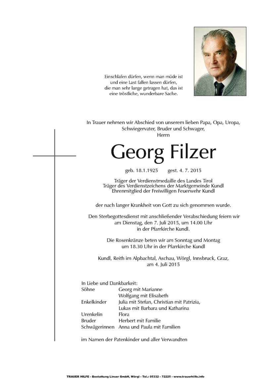 Georg Filzer