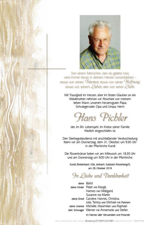 Hans Pichler