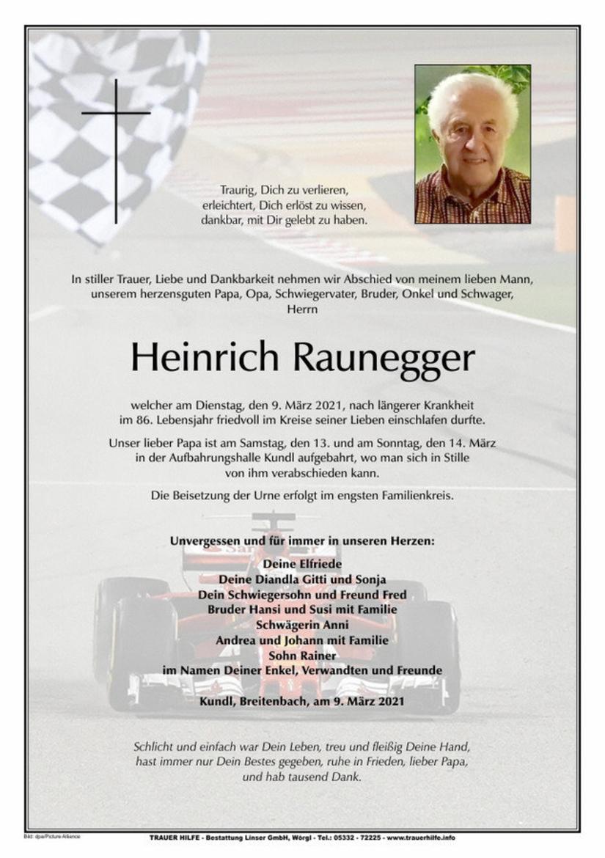 Heinrich Raunegger