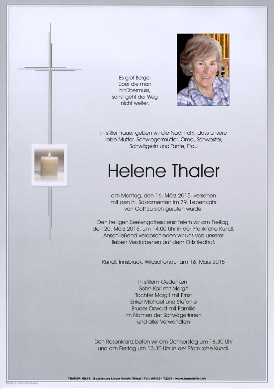 Helene Thaler