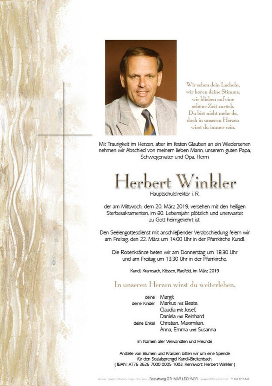 Herbert Winkler
