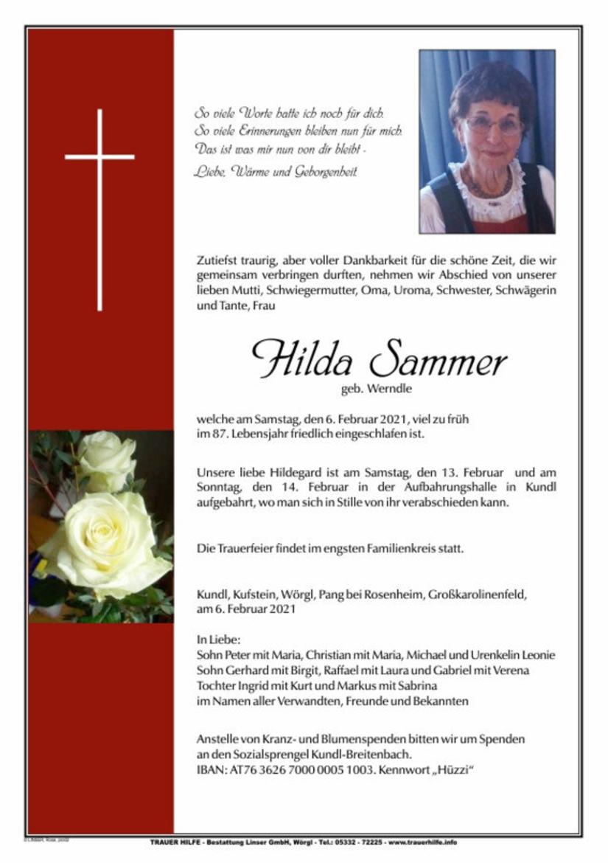 Hilda Sammer