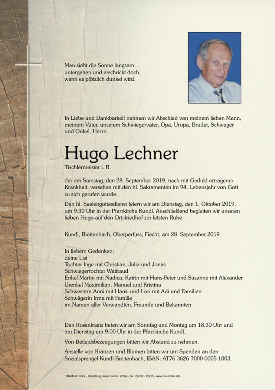 Hugo Lechner