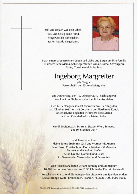 Ingeborg Margreiter