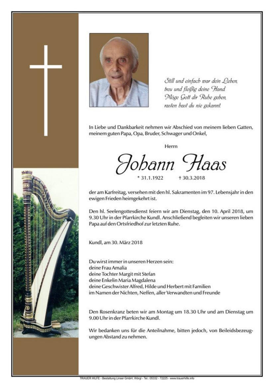 Johann Haas