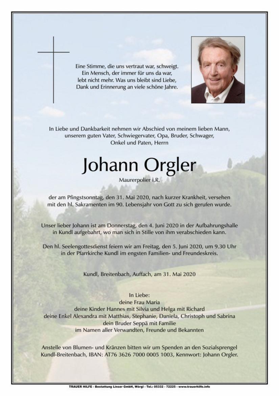 Johann Orgler