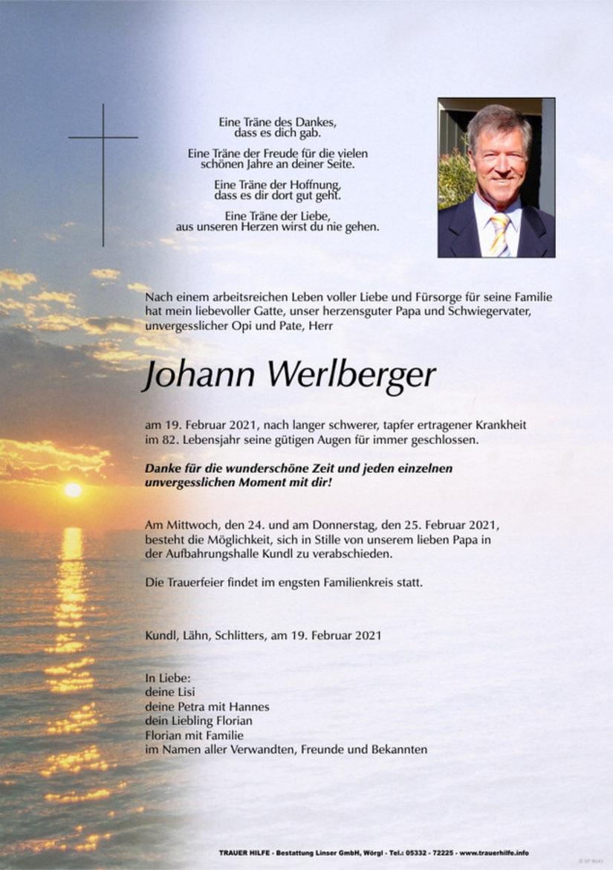 Johann Werlberger