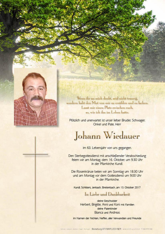 Johann Wiedauer