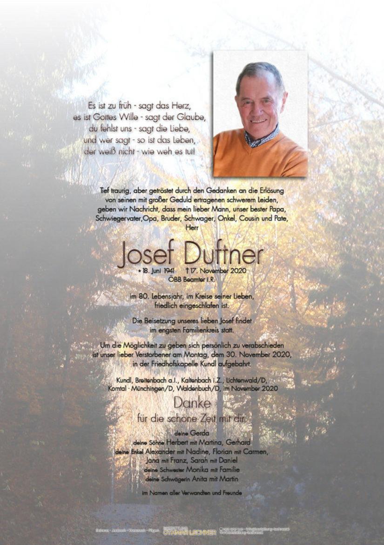 Josef Duftner