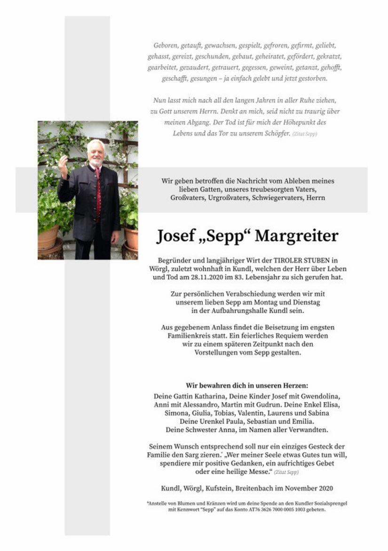 Josef Margreiter