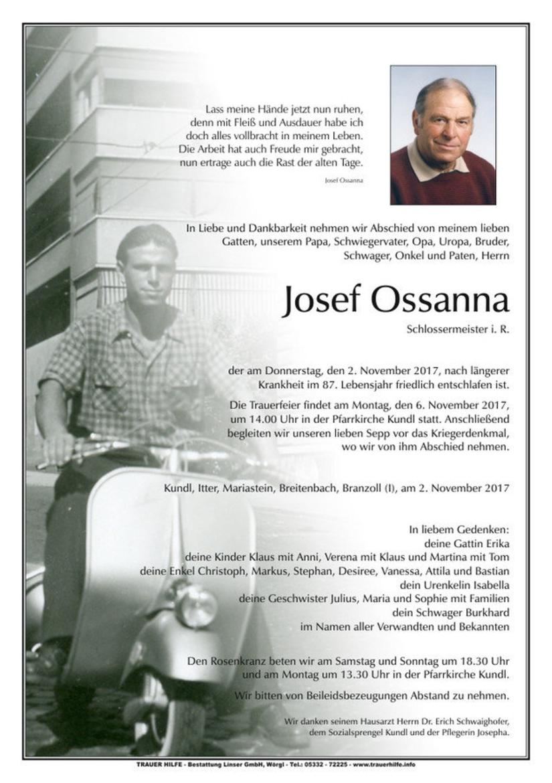Josef Ossanna