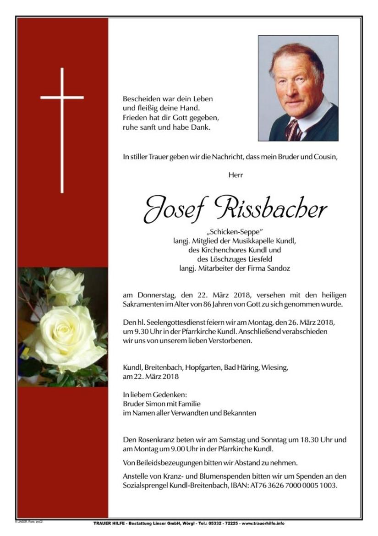 Josef Rissbacher