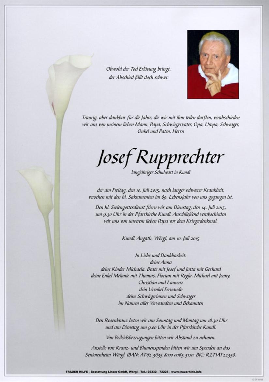 Josef Rupprechter