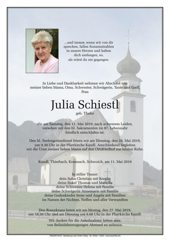 Julia Schiestl