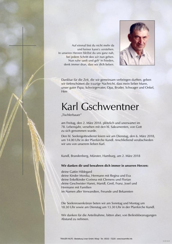 Karl Gschwentner