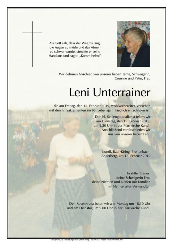 Leni Unterrainer