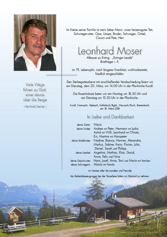 Leonhard Moser