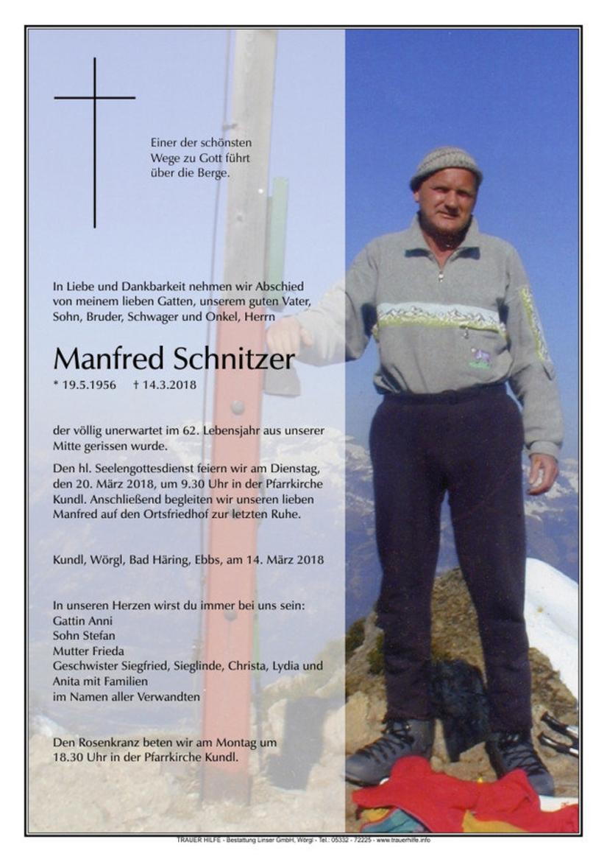 Manfred Schnitzer