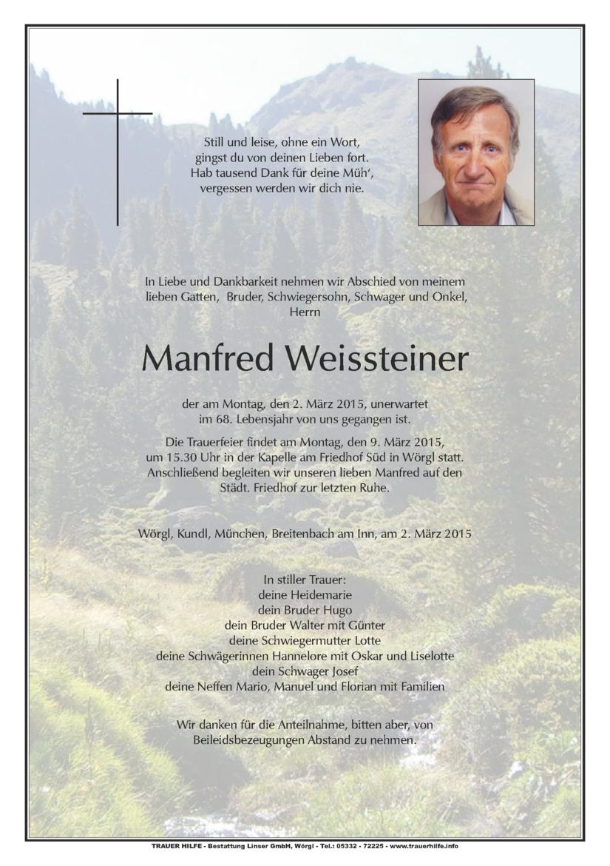 Manfred Weissteiner
