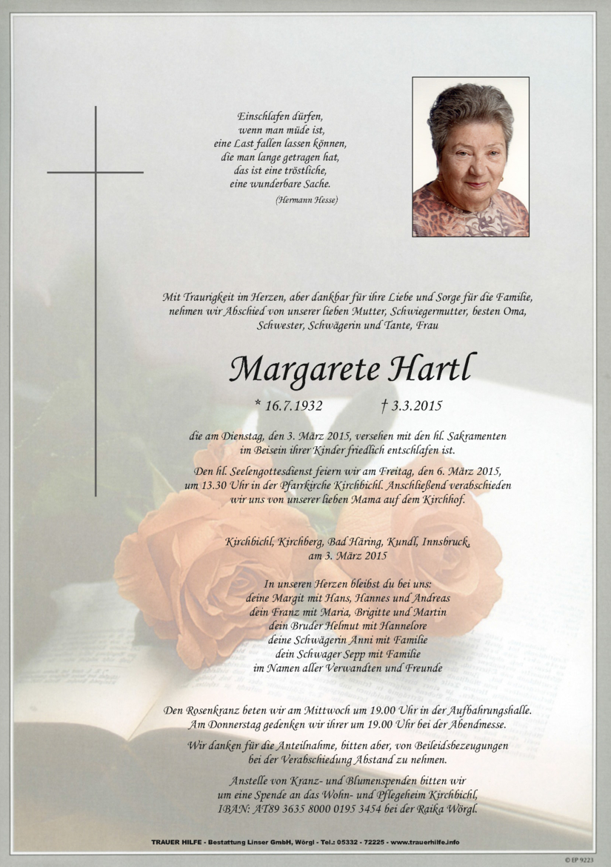 Margarete Hartl