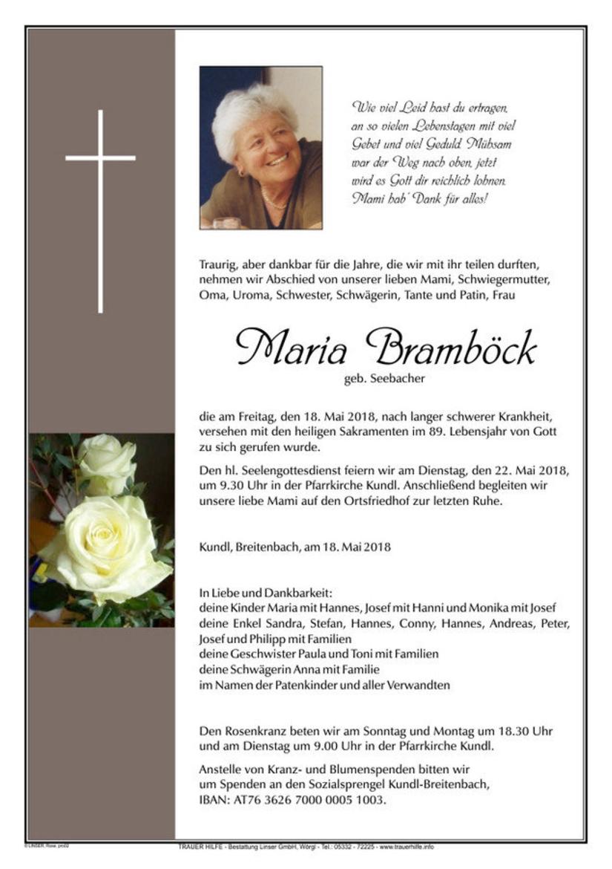 Maria Bramböck