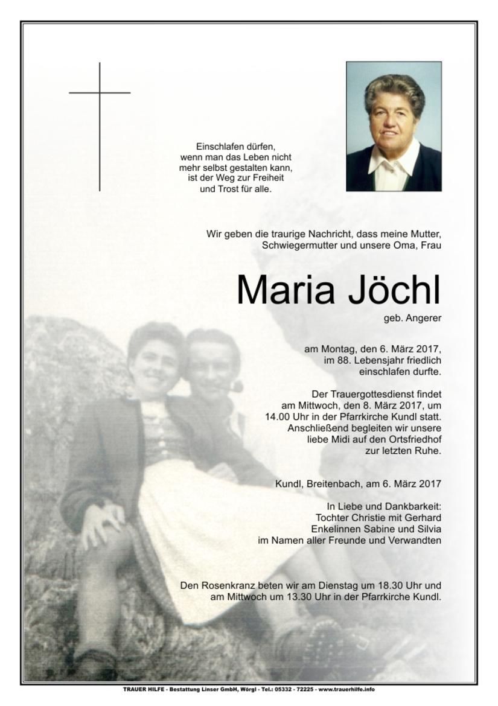 Maria Jöchl